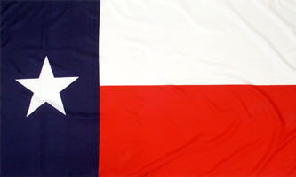 10'x15' 2 Ply Texas State Flag