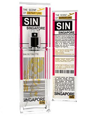 Singapore scent of departure
