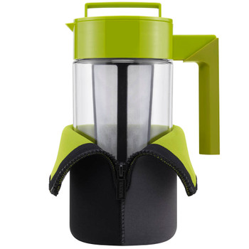 Sweet Tea Factory - Takeya - 40 oz Hot or ICED tea maker.  Keep your tea hotter or cooler longer with this thermal jacket!