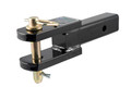 FORKED MOUNT FOR PINTLE EYE WITH PIN AND CLIP
