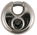 TRIMAX Stainless Steel 70MM Round Padlock w/ 10MM Shackle