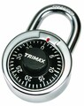 DIAL COMBINATION PADLOCK 50 MM BODY W/ HARDENED SHACKLE