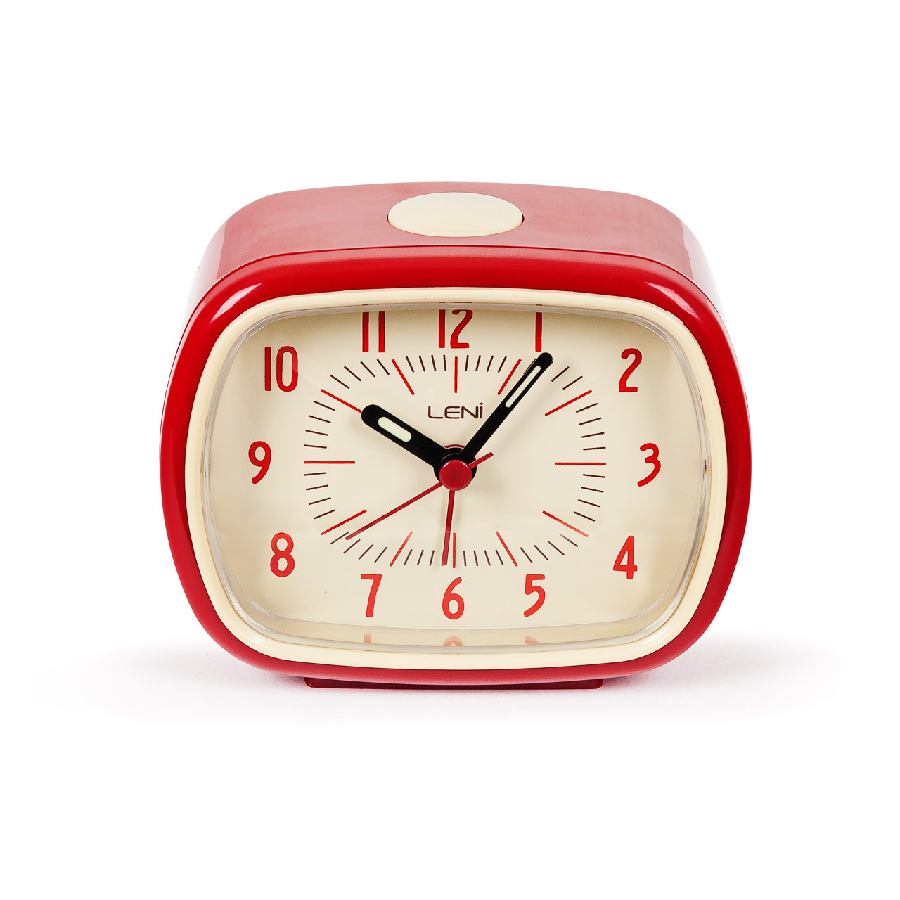 Retro Alarm Clock Red | Buy Funky Alarm Clock | Bedside Clock
