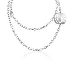 Monogram Convertible Necklace