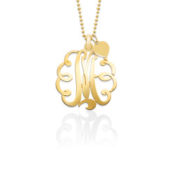 Mommy Monogram with Chain