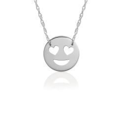 JBD364 Love Emoji in Sterling Silver