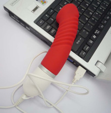 The discreet horseshoe extreme vibrating dildo, Exclusive on www.masalatoys.com