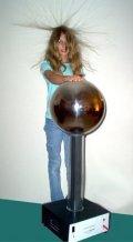 static electricity,electrostatics,van de Graaff,generators,wimshurst,leyden,jars,electroscopes
