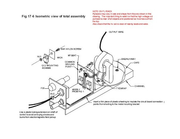 solid state tesla coil and jacobs ladder  paper plans