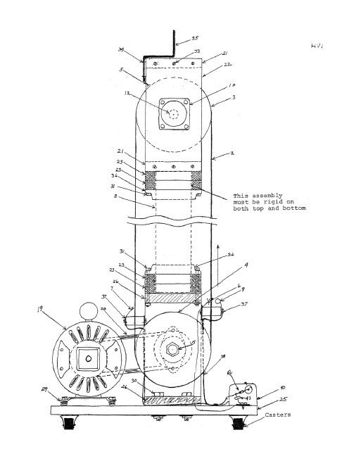 1 5 Million Volt Van De Graf Generator Paper Plans