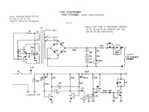 fish stunner 500v downloadable plans information unlimited rh amazing1 com classic electric fish shocker diagram Alternator Wiring Diagram