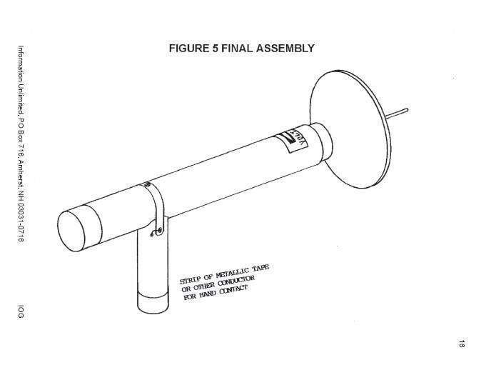ion ray gun 80kv  m  downloadable plans