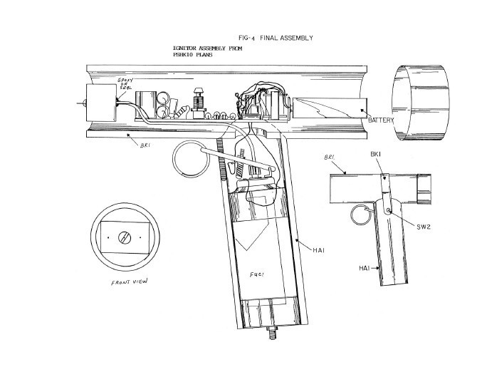 pocket flame thrower  paper plans
