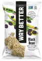 Way Better Snacks Tortilla Chips, Simply Beyond Black Bean, 5.5 Ounce (Pack of 6)
