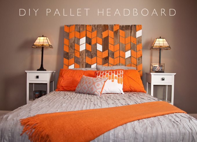 make a pallet headboard for less than  15