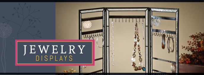 J. Devlin Jewelry Display, textured glass, makes a great gift for jewelry display