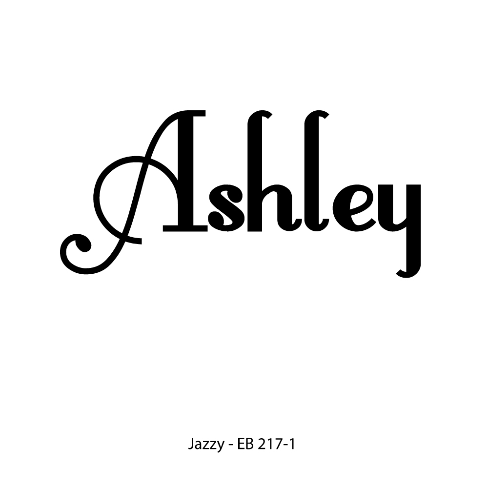 Single Name or Line Monogram-jazzy