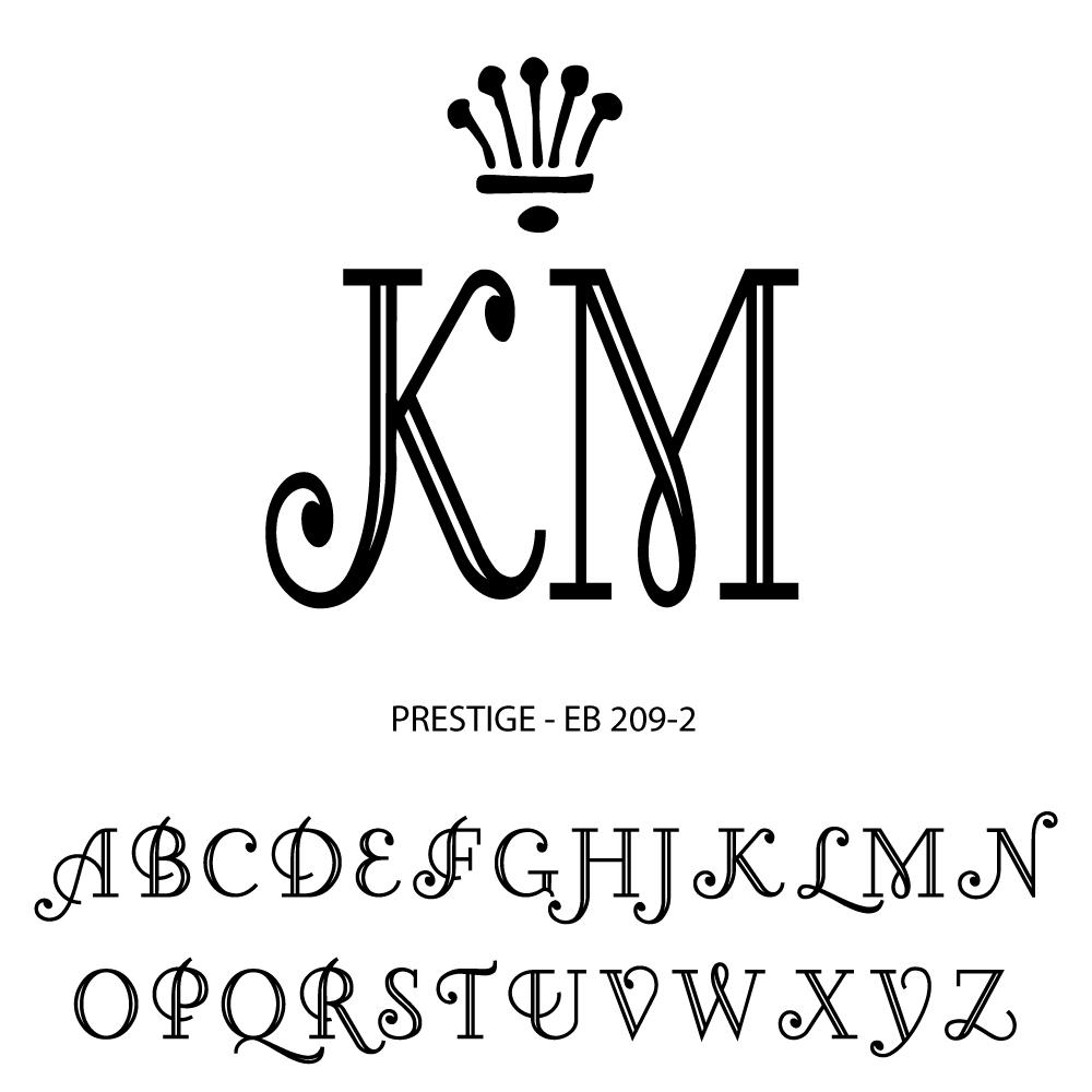Double Letter Monogramming - prestige