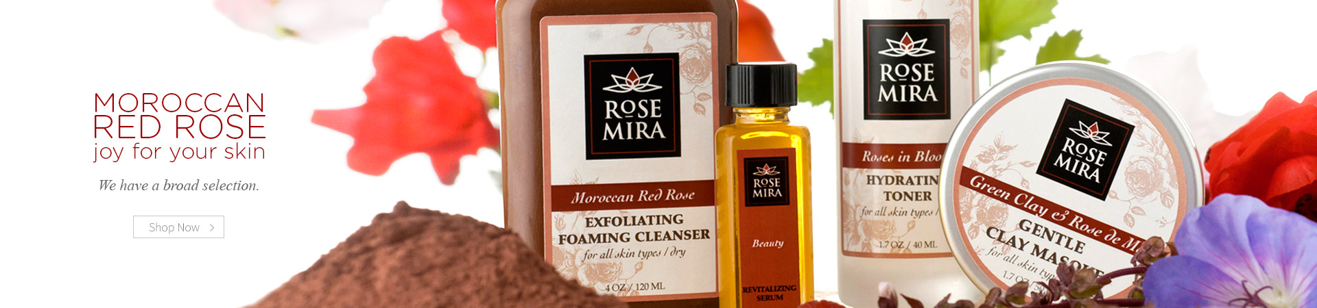 Moroccan Red Rose-a joy for your skin