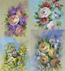 DVD1117 Paint It Simply Foundation Studies : Roses & Blossoms