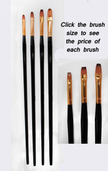 Synthetic Brushes- Long Handle