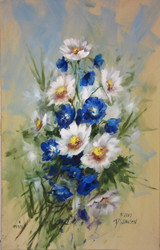 V1119C Painting Spring Flowers: Delphiniums & Daisies (Download Only)