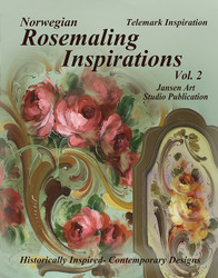 B5042 Rosemaling Inspiration Vol 2 - Telemark