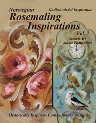 B5043 Rosemaling Inspiration Vol 2 - Gudbrandsdal