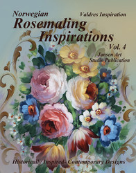 B5044 Rosemaling Inspiration Vol 4 - Valdres