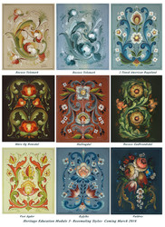 Heritage Education Module 3 Rosemaling - ONLINE CLASS