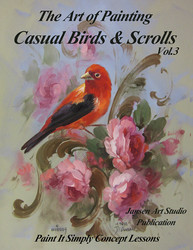 B5045 Birds and Scrolls Vol. 3- Art of Painting