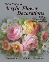 B5047 Acrylic Flower Decorations