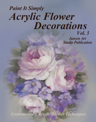 B5051 Acrylic Flower Decorations Vol. 3
