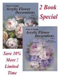 SPECIAL- Acrylic Flower Decorations