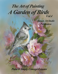 B5052 A Garden of Birds Vol 4- Art of Painting Series-Printed