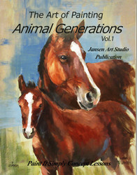 B5053 Art of Painting- Animal Generations-Printed