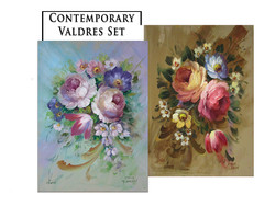 Contemporary Valdres Greeting Card Set 1
