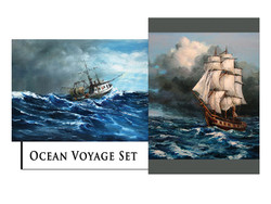 Ocean Voyage Greeting Card Set