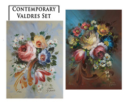 Contemporary Valdres Greeting Card Set 2