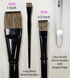 Pre Order Large Fusion Flats - 4 Brush Set