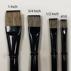 Large Fusion Flat Brushes