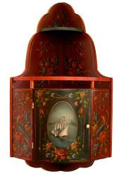 P2027 Hindeloopen Corner Cabinet $8.95