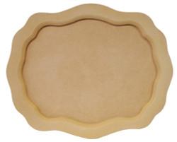 DCC #  2b Small Scallop Tray $18.00
