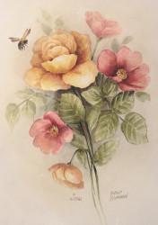 P4026 The deLongpre Watercolor $10.95