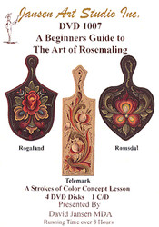 DVD1007 Beginning Guide to Rosemaling