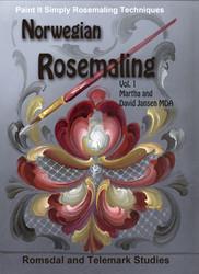 B5005MD- Norwegian Rosemaling- Video Book Disc