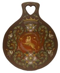 Renaissance Rosemaling Lefsa Board
