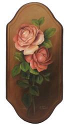 Dewey Roses Plaque