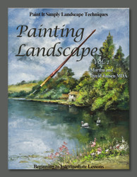 B5008MD- Painting Landscapes Vol. 1- Video Book Disc