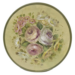 Soft Floral Plate